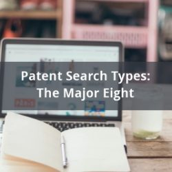 Patent search types The major eight