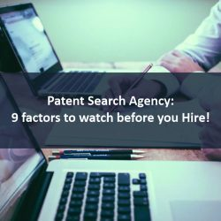 Patent search agency