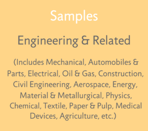 2. Sample FTO Reports - Engineering