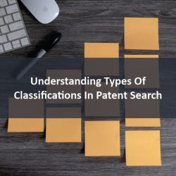 Classifications in patent search