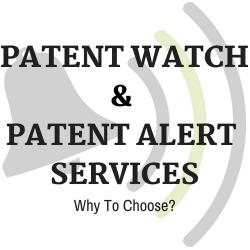 Patent Alert Services