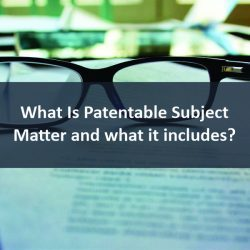 What is Patentable Subject Matter and what it includes?