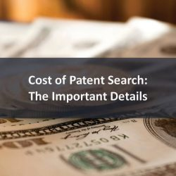 Cost of Patent Search