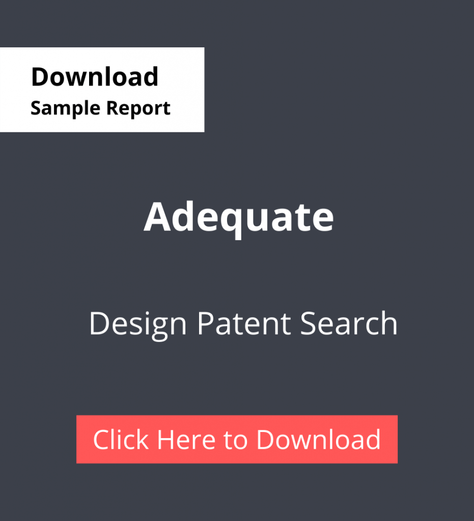 TPSF Sample Report Design Patent Search Adequate