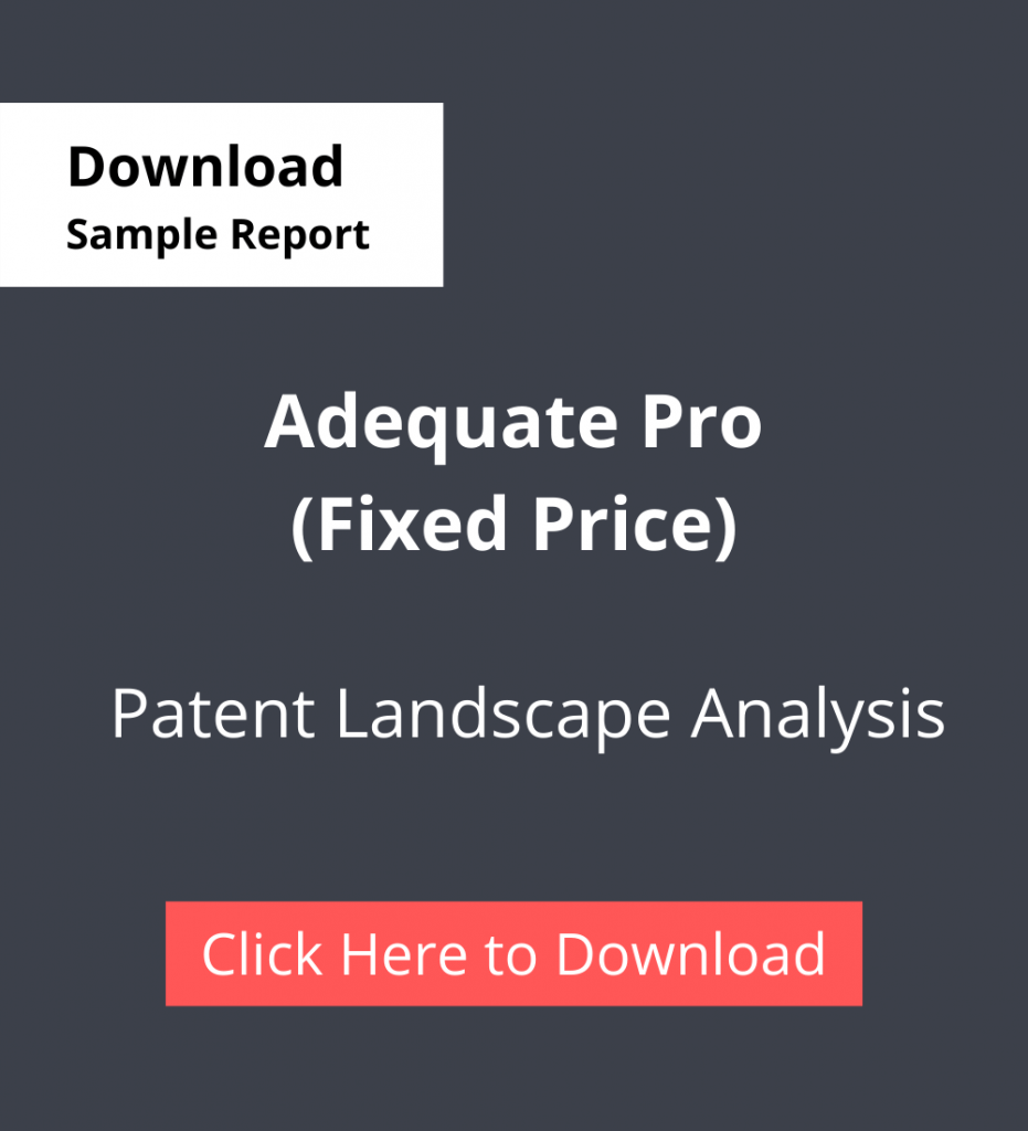 TPSF Sample Report Patent Landscape Analysis Adequate Pro (Fixed Price)