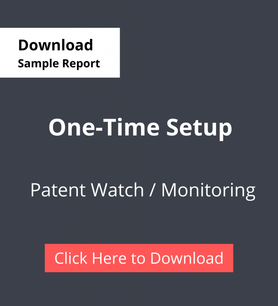 TPSF Sample Report Patent Watch Or Monitoring One time Setup